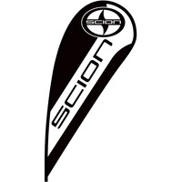 Scion Flex Blade Flag - 12'