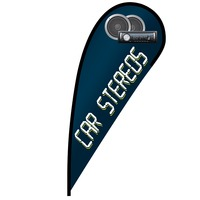 Car Stereos Flex Blade Flag - 12'