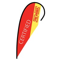 Certified Pre-Owned Flex Blade Flag - 12'