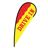 Drive In Flex Blade Flag - 12'