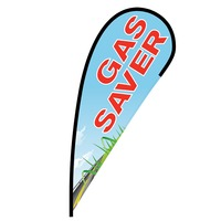 Gas Saver Flex Blade Flag - 12'