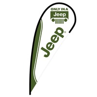 Jeep Flex Blade Flag - 12'
