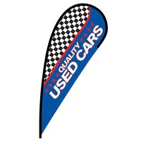 Quality Used Cars Flex Blade Flag - 12'