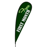 First Month Free Flex Blade Flag - 15'
