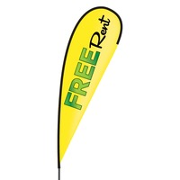 Free Rent Flex Blade Flag - 15'