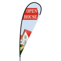 Open House Flex Blade Flag - 15'