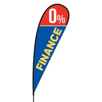0% Finance Flex Blade Flag - 15'