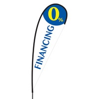 0% Financing Flex Blade Flag - 15'