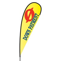 0 Down Payment Flex Blade Flag - 15'