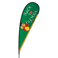 Back to School Flex Blade Flag - 15'