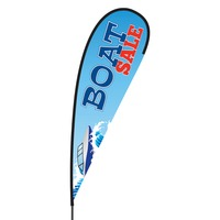 Boat Sale Flex Blade Flag - 15'