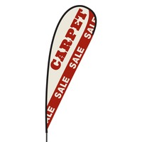 Carpet Sale Flex Blade Flag - 15'