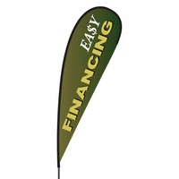 Easy Financing Flex Blade Flag - 15'