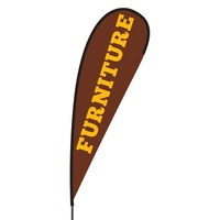Furniture Flex Blade Flag - 15'