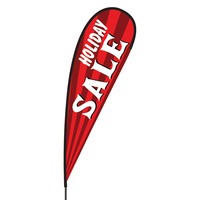 Holiday Sale Flex Blade Flag - 15'