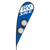 RV Sale Flex Blade Flag - 15'
