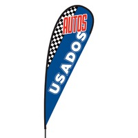 Autos Usados Flex Blade Flag - 15'