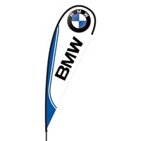 BMW Flex Blade Flag - 15'
