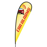 Car Alarms Flex Blade Flag - 15'
