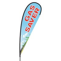Gas Saver Flex Blade Flag - 15'