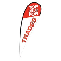 Top Dollar for Trades Flex Blade Flag - 15'