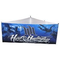 10' Triangular Hanging Display
