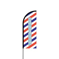 Barbershop Flex Banner Flag - 11ft
