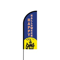 Happy Halloween Flex Banner Flag - 11ft