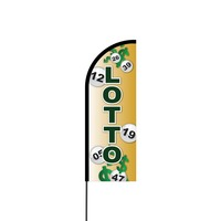 Lotto Flex Banner Flag - 11ft