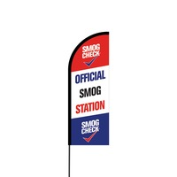 Smog Station Flex Banner Flag - 11ft