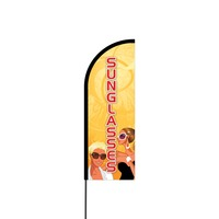 Sunglasses Flex Banner Flag - 11ft