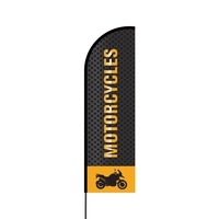 Motorcycles Flex Banner Flag - 14 (Single Sided)