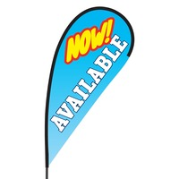 Now Available Flex Blade Flag - 09' Single Sided