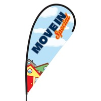 Move In Special Flex Blade Flag - 09' Single Sided