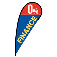 0% Finance Flex Blade Flag - 12'
