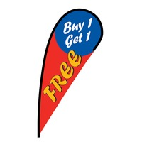 Buy 1 Get 1 Free Flex Blade Flag - 12'
