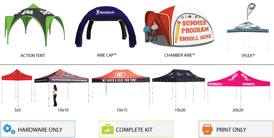 best cheap 1514f 0a803 Custom Pop up Tents and Inflatable Tents Online - Above All Plus